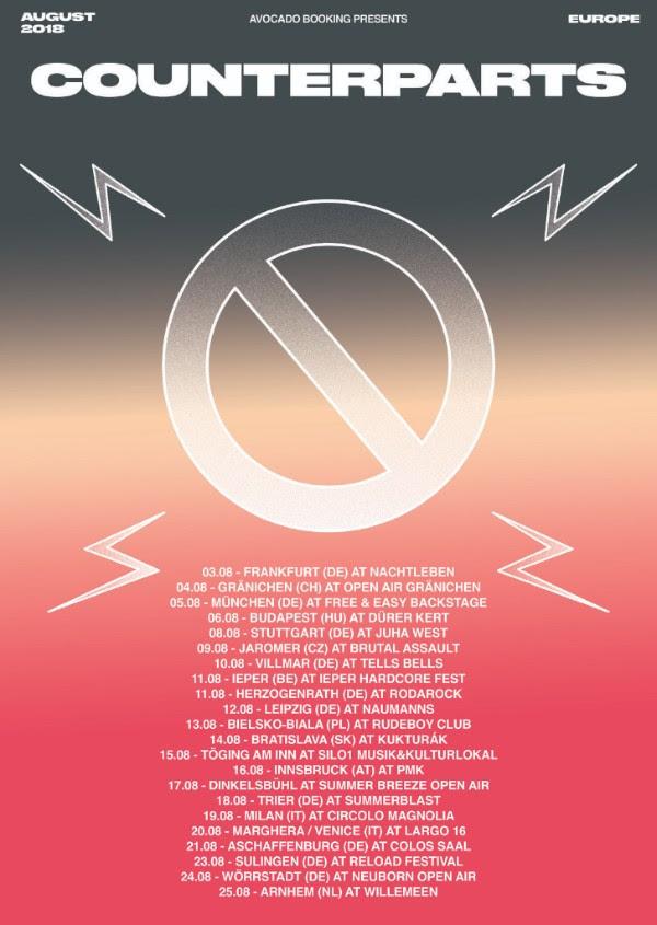 Counterparts - Tour Dates