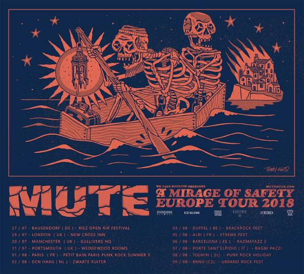 Mute - Tour Dates