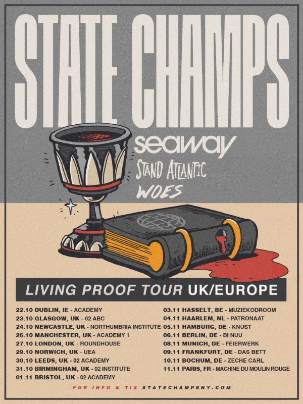 State champs tour dates in Perth