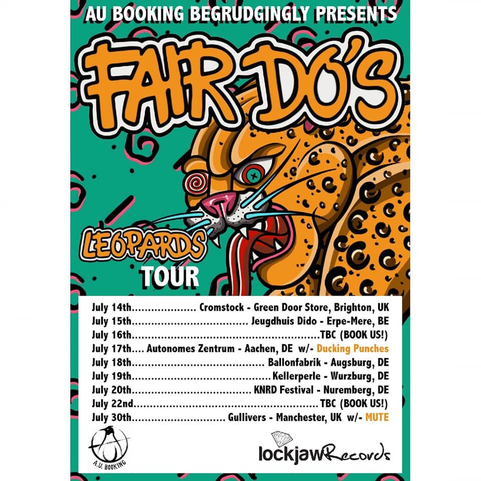 Fair Do's Leopards tour