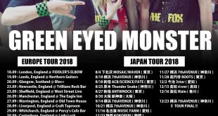 Green Eyed Monster 2018 Tours