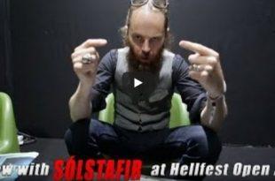 Solstafir Interview Hellfest