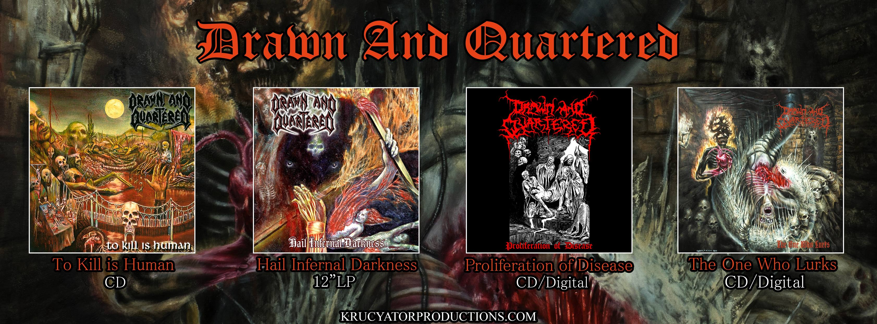 drawn and quartered biography discography and more distrolution