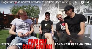 Pogo Car Crash Control - Interview Hellfest