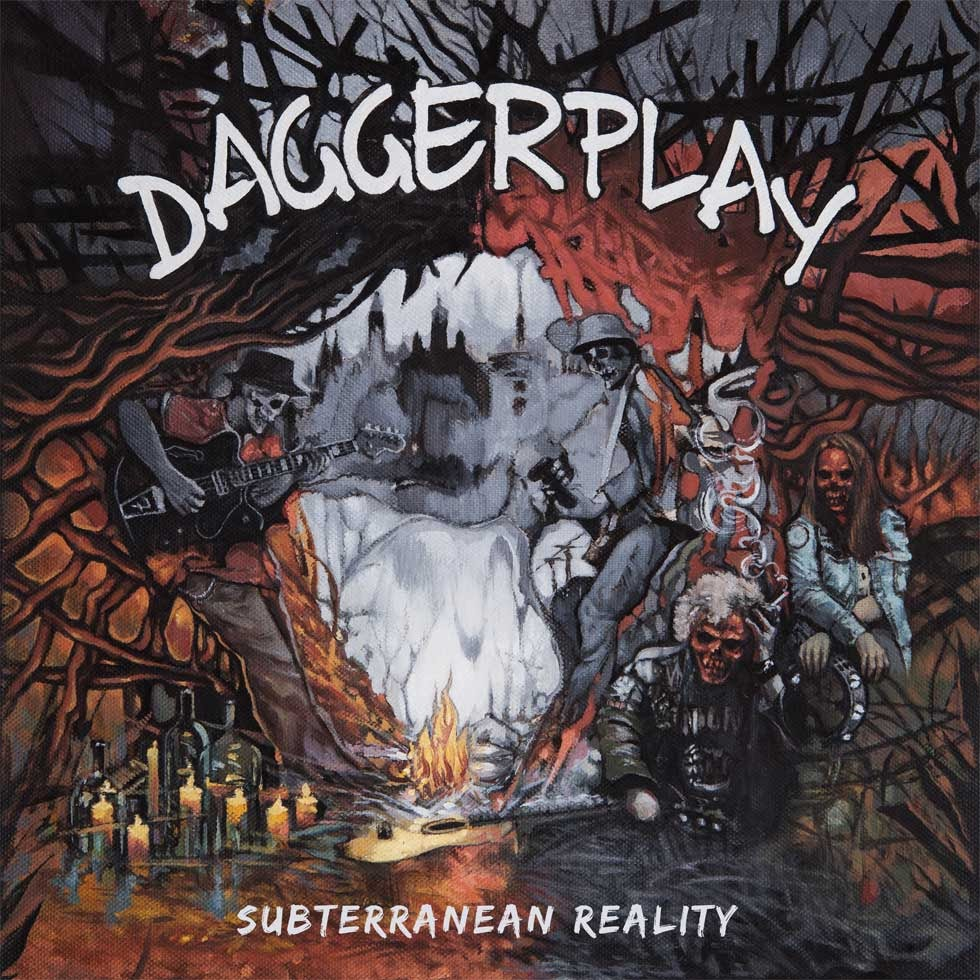 DAGGERPLAY - Vinyl artwork