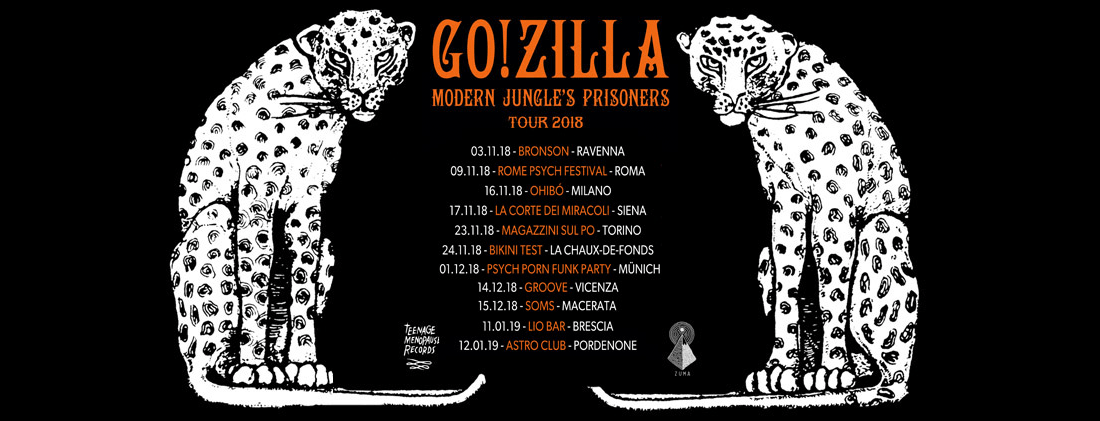 Go!Zilla - Tour Dates