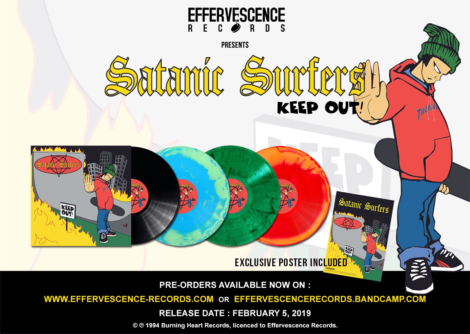 Effervescence Records - Preorders