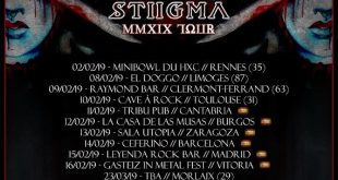 Beyond The Styx - Tour Dates