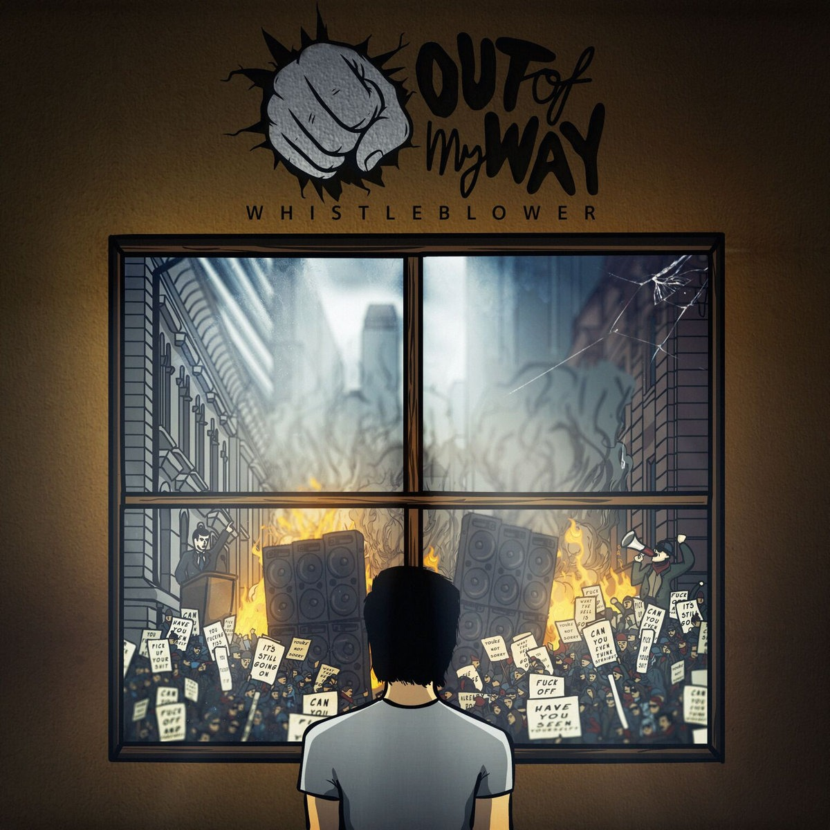 Out of My Way - EP Artwork