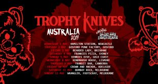 Trophy Knives Australia Tour