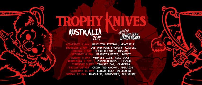 Trophy Knives Australia Tour