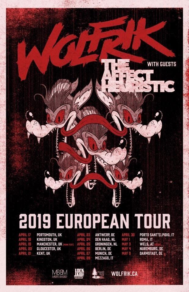 Wolfrik - European Tour Dates