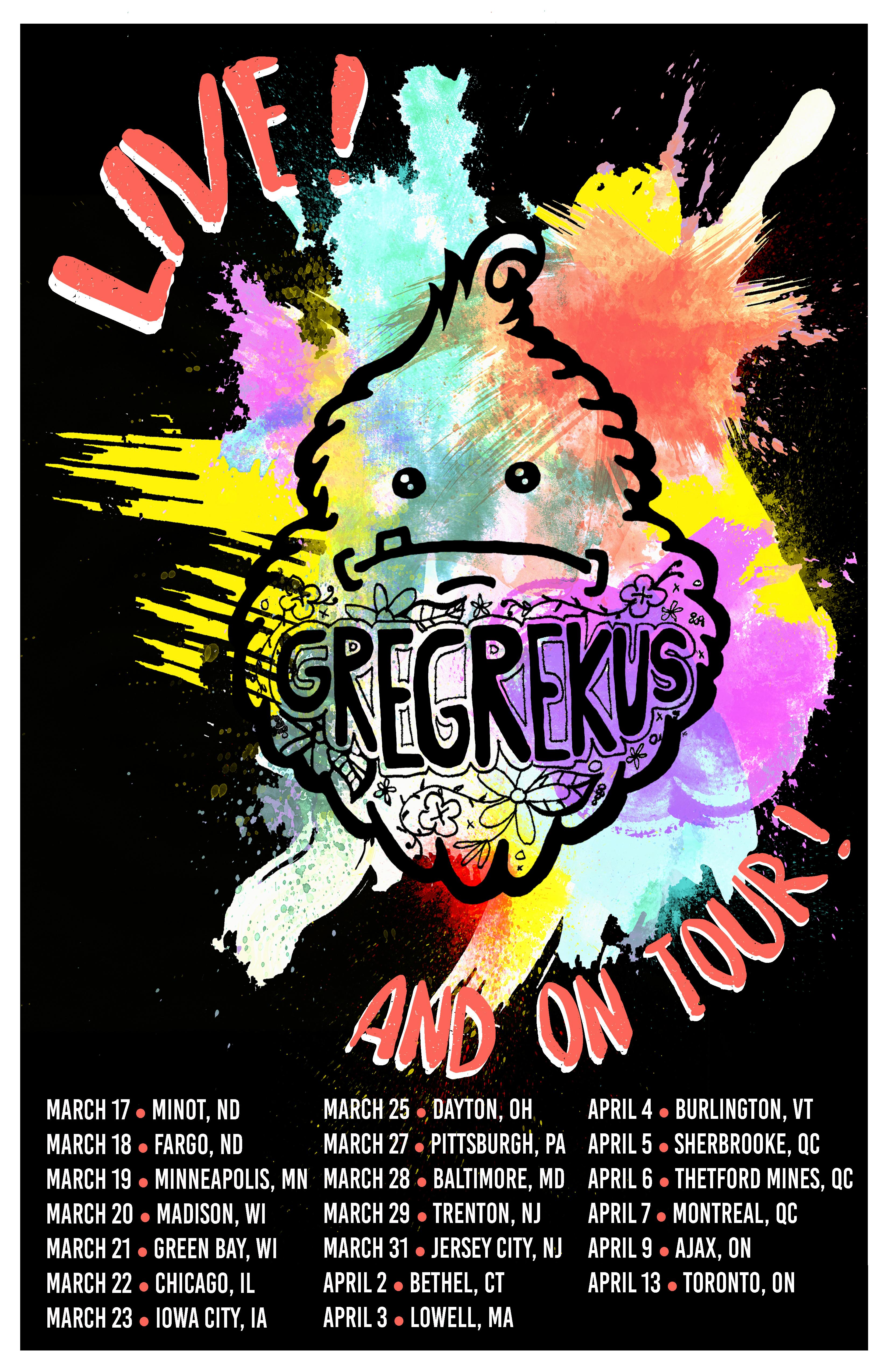 Greg Rekus - Bigfoot Poster 2019