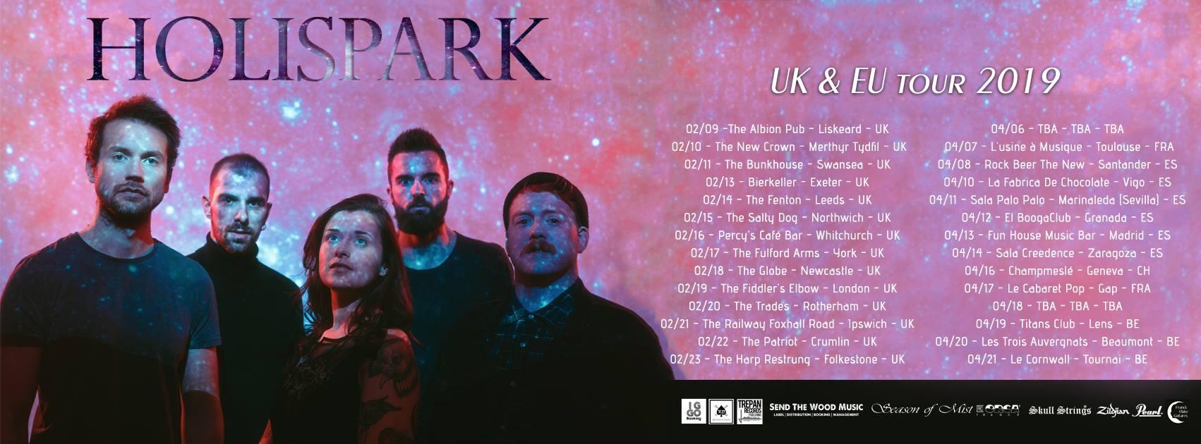 Holispark - Tour Dates