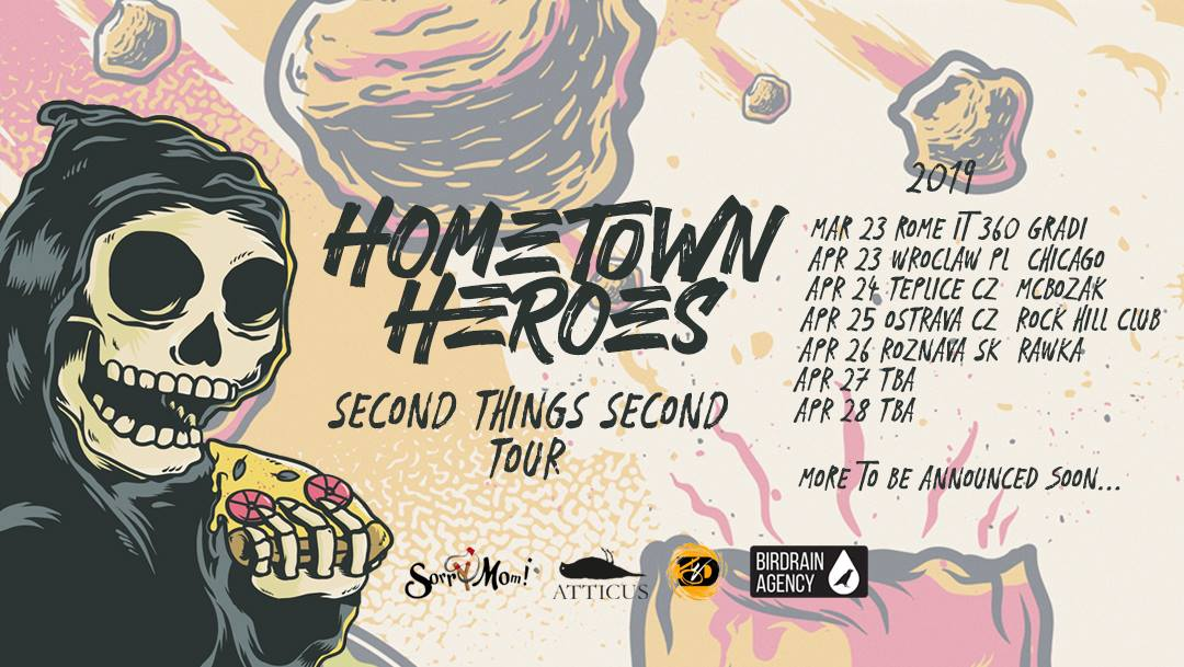 Hometown Heroes reveal their new April tour dates! - Distrolution