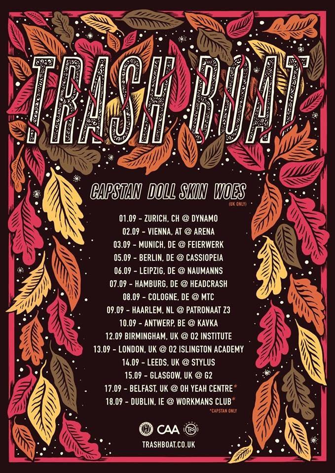 Trash Boat - Tour Dates
