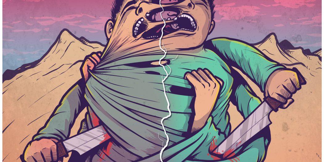 Dead Neck - Split artwork