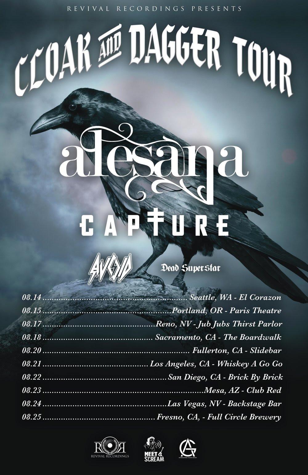 Alesana - Tour Dates
