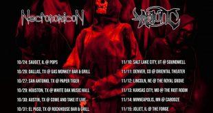 Necronomicon - Tour dates