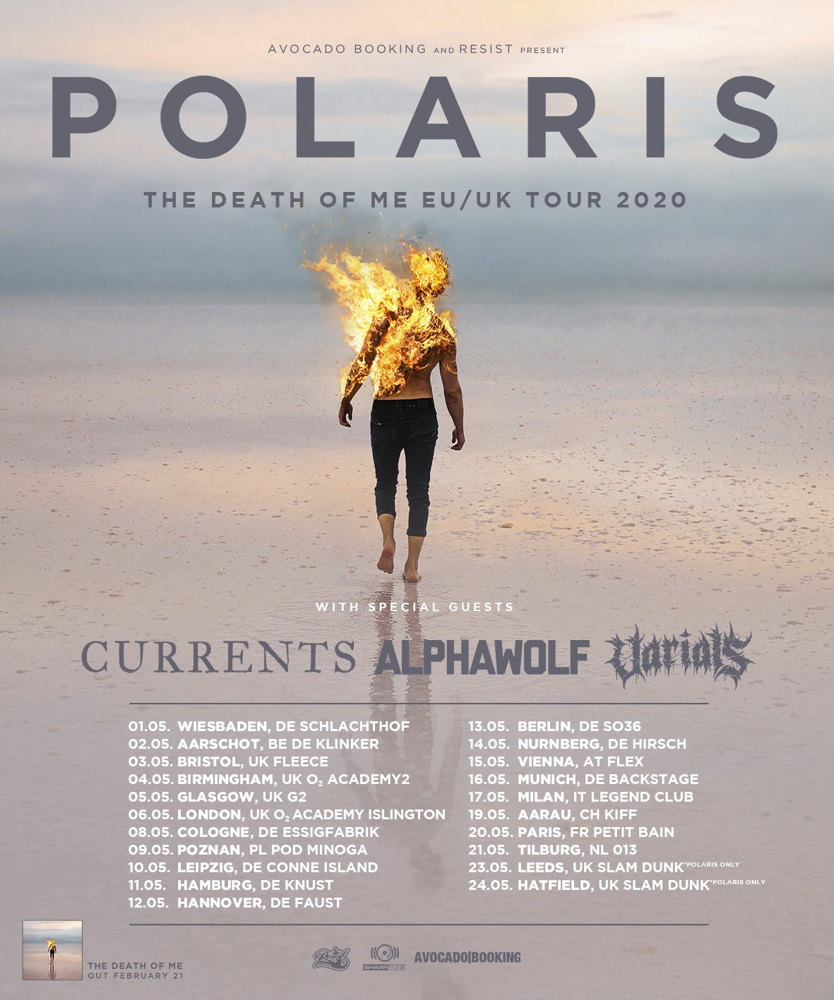 Polaris - Tour Dates