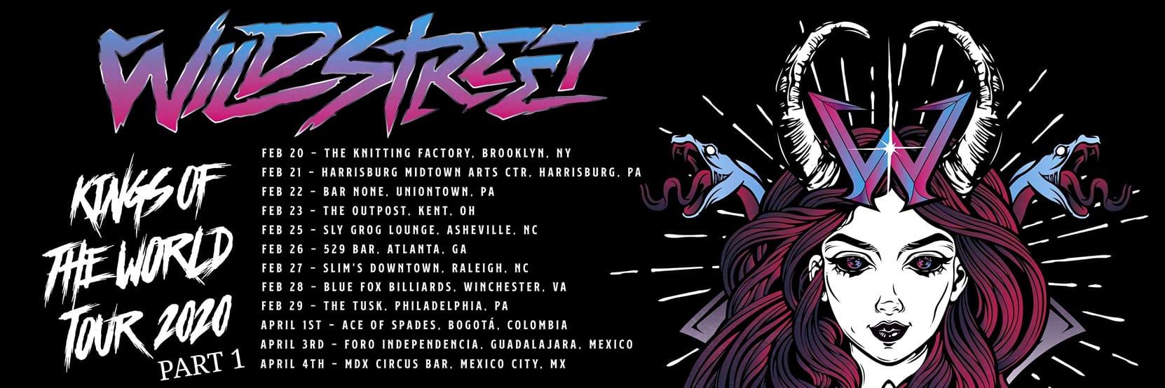 Wildstreet - Tour Dates