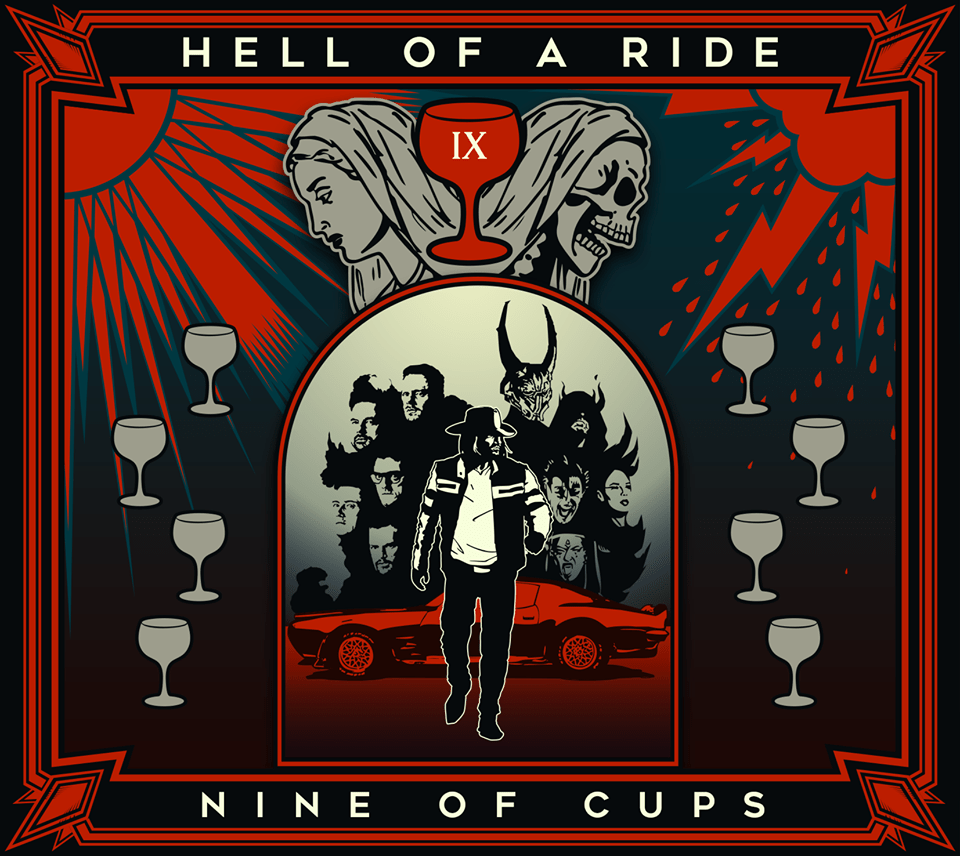 HELL OF A RIDE - artwork