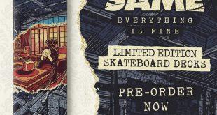 Much The Same - Skateboard Deck