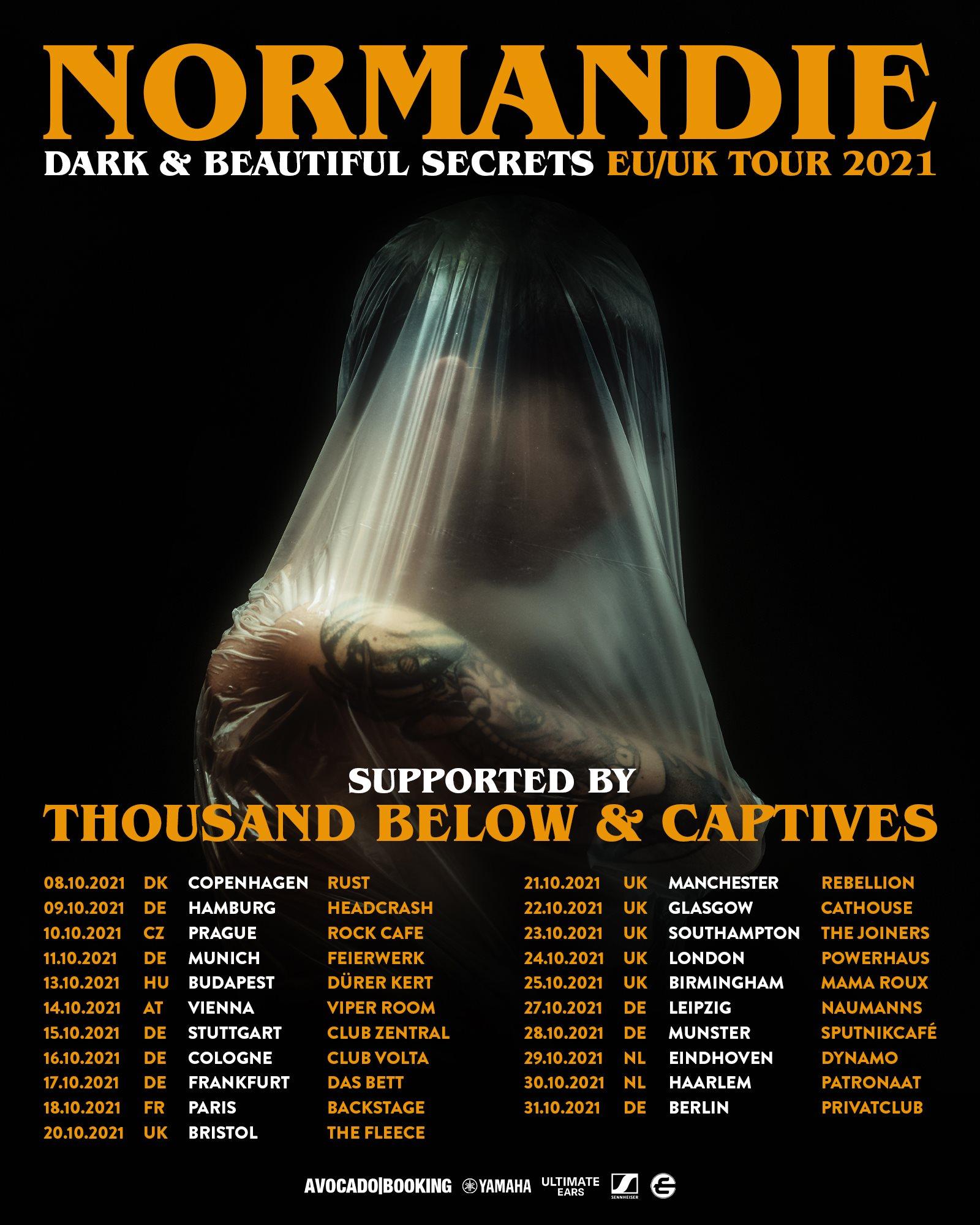 Normandie - Tour Dates 2021