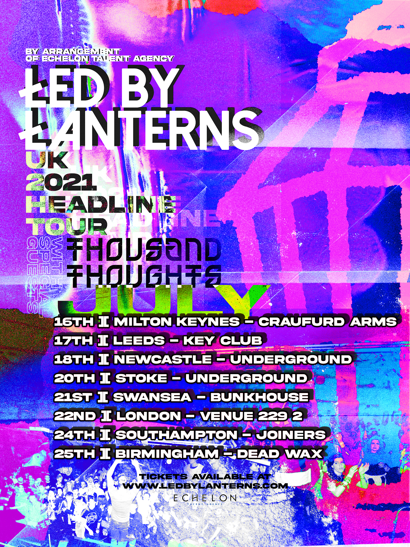 Thousand Thoughts - Tour Dates