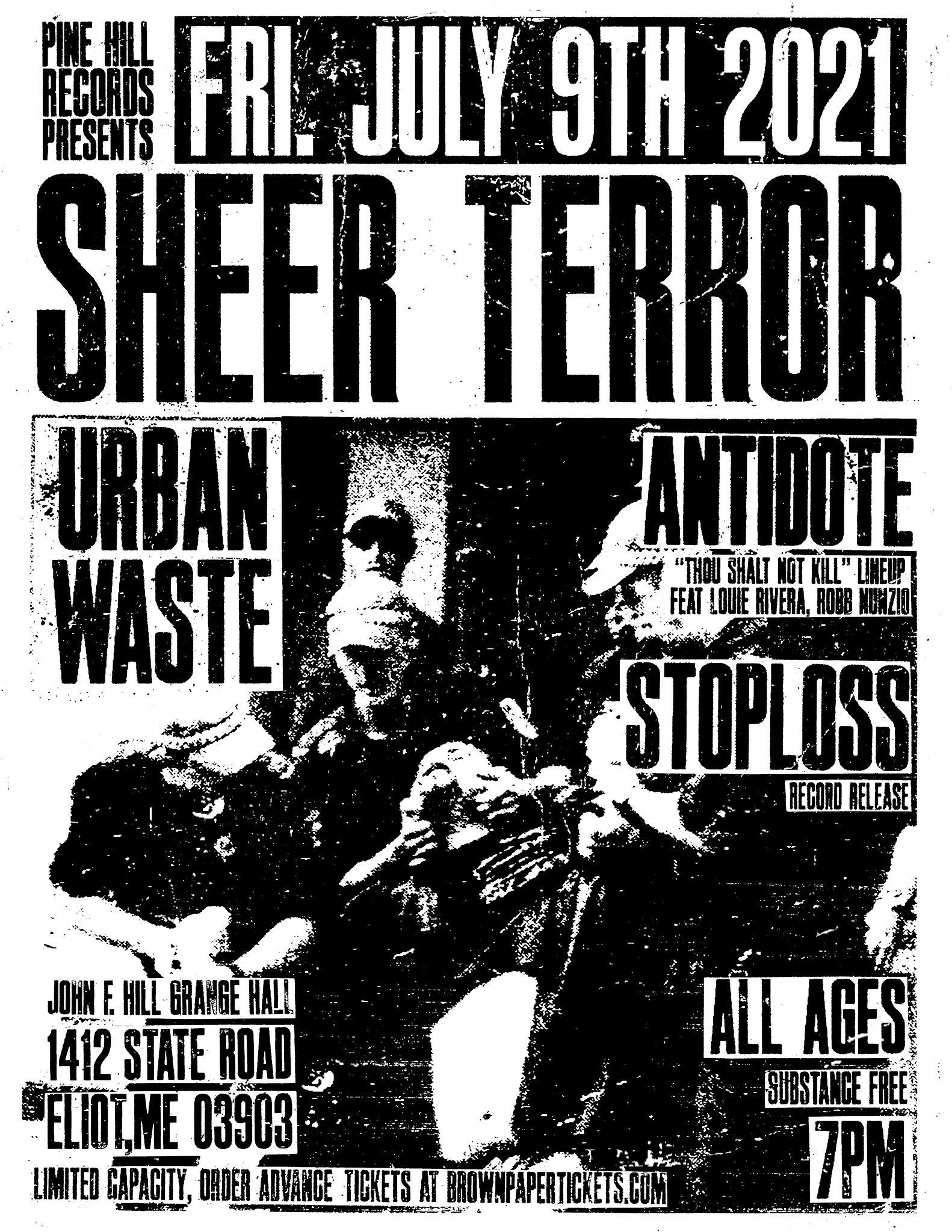 Antidote - Urban Waste - Live Show