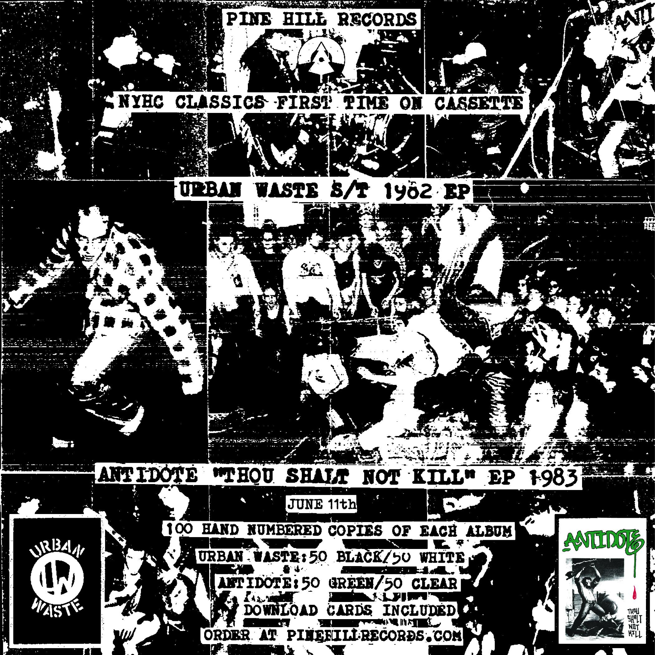 Pine Hill Records - Double cassette reissue
