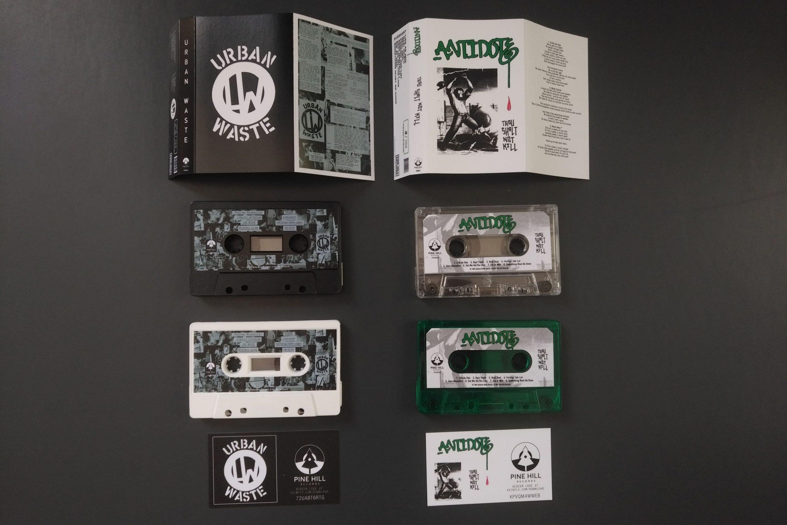 Urban Waste & Antidote - Tape reissue